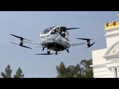 Jungfernflug: Abheben mit der Passagier-Drohne