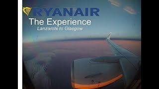 Airline: RyanairRoute: Lanzarote to GlasgowAircraft: Boeing 737-800Registration: EI-ENJSeat Number: 12FFlight Number: FR3521Contrary to popular belief, Ryanair is a very good budget airline. It gets you from point A to point B for a low cost. The aircraft was clean, the flight was on time and most importantly the crew were very friendly!The flight took a scenic route flying over the Iberian peninsula and then viewing a beautiful purple sky over the Bay of Biscay.I would definitely recommend flying Ryanair if you are looking for cheap flights to get you from one point to another.Please like and subscribe as it would help me out and encourage me to make more videos! I will be making a website to write a full flight report in addition to the videos on this channel and I will link it when it is released. I hope you enjoyed the video.Music CreditsMusic: Spring In My Step - Silent Partner https://youtu.be/siCmqvfw_1gFantasy by Del https://soundcloud.com/del-soundAttribution-ShareAlike 3.0 Unported (CC BY-SA 3.0)https://creativecommons.org/licenses/...Music provided by Audio Library https://youtu.be/84GNW_Mx7cUPyres by Broken Elegance https://soundcloud.com/brokeneleganceCreative Commons — Attribution 3.0 Unported— CC BY 3.0 http://creativecommons.org/licenses/b...Music provided by Audio Library https://youtu.be/9xMg_xdpa7w