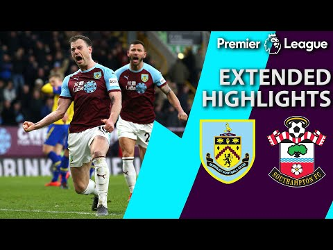 Video: Burnley v. Southampton | PREMIER LEAGUE EXTENDED HIGHLIGHTS | 2/2/19 | NBC Sports