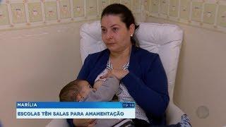 Escolas de Marília contam com salas especiais para amamentação