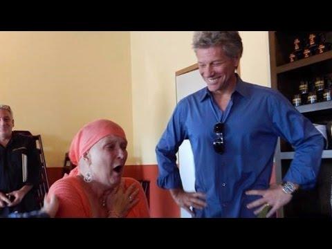 El emotivo gesto de Bon Jovi