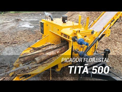 Picador Florestal TITÃ 500 com produção inigualável