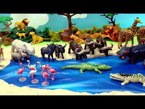Playmobil Animals Figurines Diorama