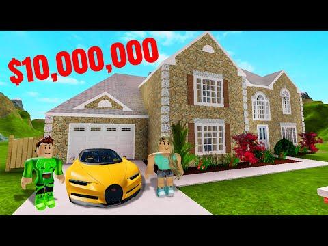 My GIRLFRIEND Built Me A $10,000,000 MANSION! (Roblox) - Thời lượng: 10 phút.