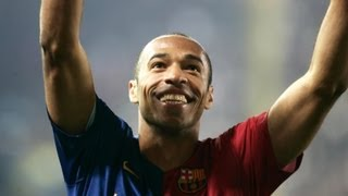Thierry Henrys Treffer für den FC Barcelona (2007-2010)