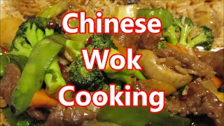 Stir fried Hunan beef and Vegetables with fried rice by Louisiana Cajun Recipes