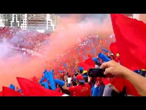 Medellín vs Chico 2014, Si quieren ver fiesta vengan a la norte - Rexixtenxia Norte - Independiente Medellín