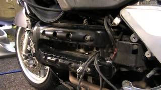 6. BMW K1200LT Valve Clearence Check Pre Adjustment DIY Part 1 of 3