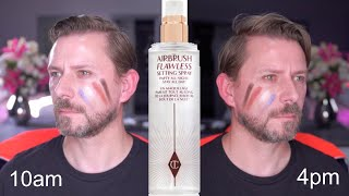 THIS SETTING SPRAY IS PROBABLY THE STRONGEST I'VE EVER USED! by Wayne Goss