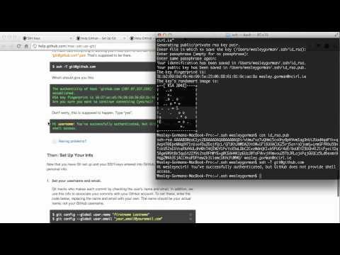Github – Setup and First Push to Github