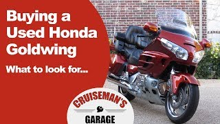 7. Tips on Buying a Used Honda Goldwing GL1800