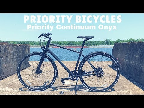 Priority Continuum Onyx with NuVinci CVT & Gates Carbon Drive