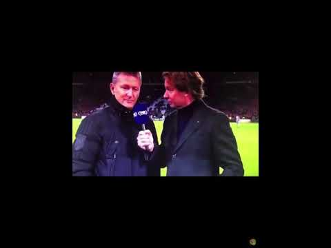 "Marco van Basten says ""Sieg Heils"" on tv"