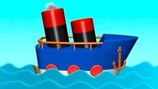 Çizgi Film - Gemi (Build And Play - Ship) Конструктор - Кораблик