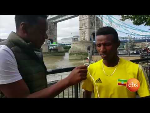 Special Interview with Athlete Solomon Barega/ 2017 World Championships in Athletics