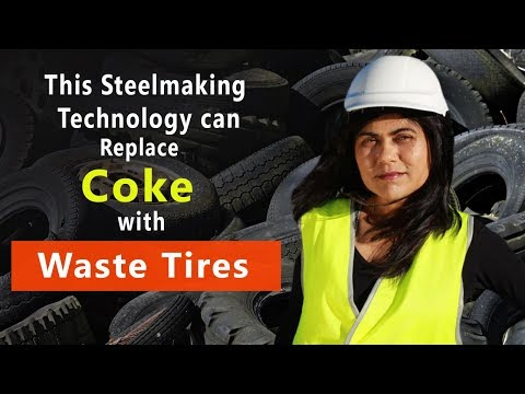 How Prof Veena Sahajwalla's Technology Can Replace Coke With Waste Rubber Tyres?
