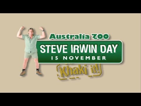Australia Zoo Steve Irwin Day