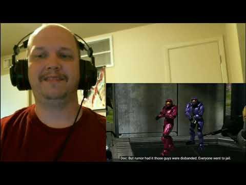 Blind Reaction:Red vs. Blue Season 8, Chapter 2