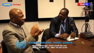 16 février 2012: Genève, après la marche, une interview au studio de Nations Unies, des congolais expliquent leur motivation et répondent aux questions.