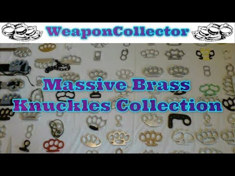 Huge Knuckle Duster / Brass Knuckles Collection (WeaponCollector.blogspot.com)