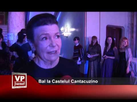 Bal la Castelul Cantacuzino