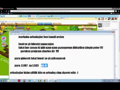 bizim çiftlik level ve çk  hilesi 2013