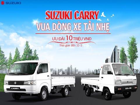 Clip giới thiệu xe Suzuki Super Carry Pro - Vua xe tải nhẹ