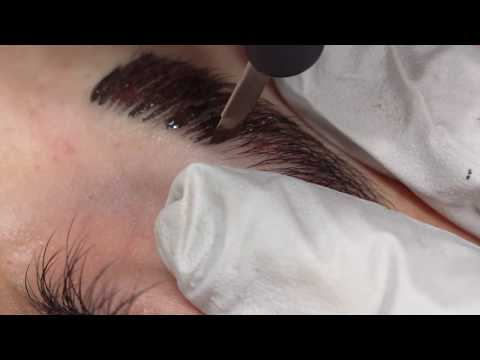 Microblading Eyebrows Step By Step Tutorial By Précis Brows