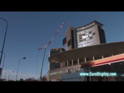 Spectacular LED Screen Installation Caught on Video by EuroDisplay