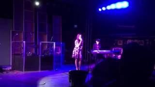 """Here is the one & only Dinara Nabiullina singing """"Life Goes On"""" Live at the CITRUS COLLEGE Songwriters Showcase on June 1st 2016, Enjoy...Song """"LIFE GOES ON"""" music & lyrics written by Brian McKinlay C. 2016Brian McKinlay Music on FaceBookhttps://www.facebook.com/Brian-McKinlay-Music-263598839278/                 """"LIFE GOES ON""""How does it feel, to be on your ownWith no one there, no one to help you growOpen your eyes, into the unknownThese empty cries, this lonely, lonely roadNow there is no Honesty, left insightWhat happened to Loyalty, its so hard to findBut if you look inside yourselfYou can never be wrongNow it helps, yes it helps to be StrongBecause Life Goes OnSuch bittersweet emptiness insideWe lie and we cheat, and no one hears our criesOpen your eyes into the unknownWe fall out of line, have we fallen all aloneNow there is no dignity left insightWhat happened to all our dreamsHave they all diedBut if you look inside yourself You could never be wrongNow it helps, yes it helps to be StrongBecause Life Goes On..."""
