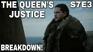 Game of Thrones Season 7 Episode 3 is now in the books so let's discuss everything that took place in the episode and what else may happen during Game of Thrones Season 7 Episode 4 which is called The Spoils of War. Finally after years of waiting Jon Snow and Daenerys Targaryen met. Jon Snow was wanting the Dragon Glass on Dragonstone while Daenerys Targaryen wanted Jon Snow to bend the knee. Euron Greyjoy arrived in King's Landing with Cersei Lannister's gifts. Cersei now has the Sand Snakes as her prisoners since Euron Greyjoy captured The Sand Snakes on the sea. Bran Stark and Sansa Stark reunited. Sam Tarly cured Jorah Mormont's Greyscale. The Unsullied ambushed Casterly Rock. Jaime Lannister sacked Highgarden. Lady Olenna Tyrell drank poison. Cersei gave Tyene Sand a poisonous kiss. So much stuff happened in this one so comment below with all your thoughts and questions. Thanks for watching! Images from Game of Thrones are property of their creators, used here under fair use. Support the Channel on Patreon here! https://www.patreon.com/TalkingThronesFollow me on Twitter here! https://mobile.twitter.com/Talking_Thrones