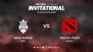 Mad Kings против Youth Fury, Вторая карта, SA квалификация SL i-League Invitational S3