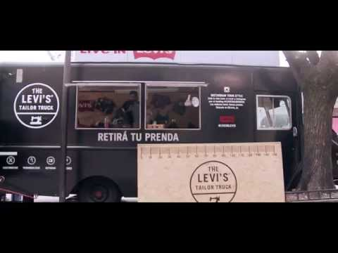 Levis Tailor Truck en #TiendaFitzrovia.