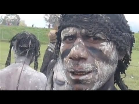 Human Cannibalism and Head Hunting in Papua New Guinea