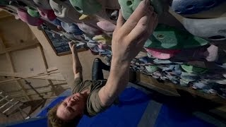 Trying Fredriks Creation On The Systemwall! by Eric Karlsson Bouldering