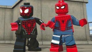 Video LEGO Marvel's Avengers - All Spider-Man Characters (Spider-Man DLC Pack Free Roam) MP3, 3GP, MP4, WEBM, AVI, FLV Oktober 2017
