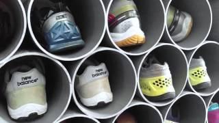 Sáng tạo cuộc sống hàng ngày: Kệ giày = Ống nước