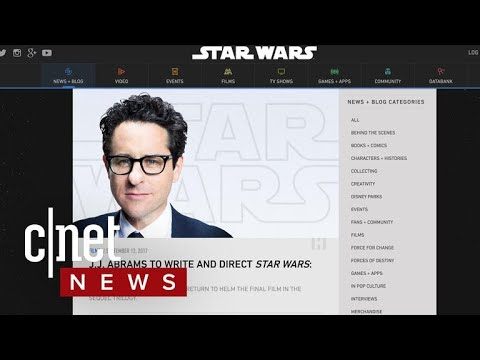 J.J. Abrams becomes the new director for 'Star Wars: Episode IX' (CNET News)