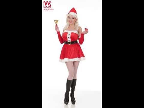 Costume Mère Noël-v29532