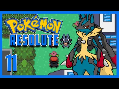 Let's Play Pokemon Resolute Part 11 - MEGA EVOLUTION Gameplay Walkthrough