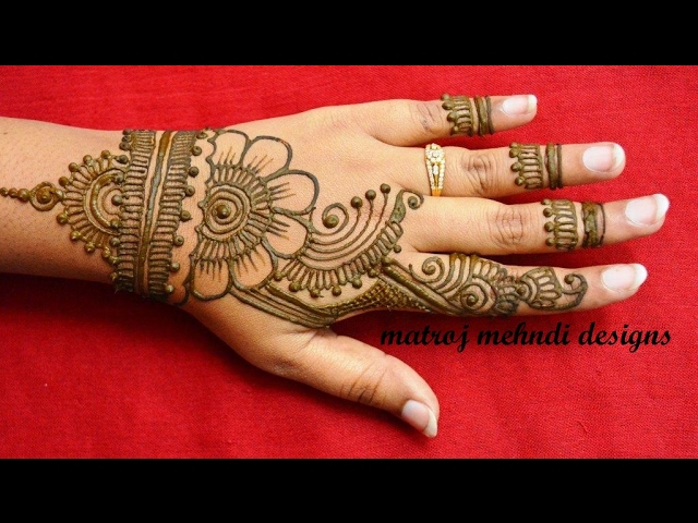 Mehndi Designs Mp Download : Simple easy mehndi henna designs for hands