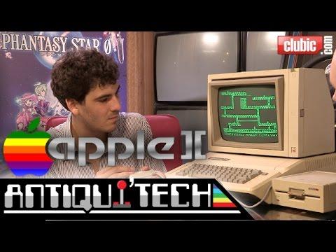 À la découverte de l'Apple II en vidéo : l'ordinateur anti-Apple de Steve... Wozniak