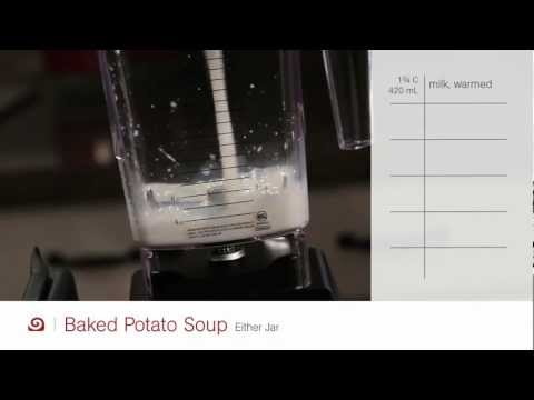 Loaded Baked Potato Soup Recipe – Blendtec Recipes