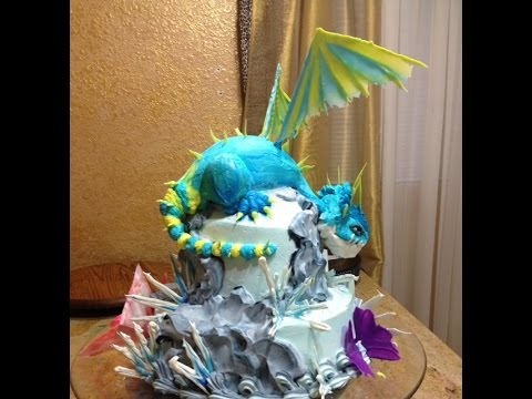how to train your dragon cake ideas