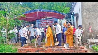 Lễ Khởi công xây nhà cho hộ nghèo tại xã Thượng Yên Công