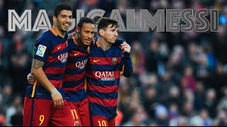 Best skills and goals of MSN. Messi, Suárez and Neymar are in unstoppable form and the most dangerous attacking trio ever!