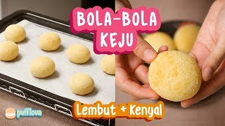 Video MEMBUAT ROTI BOLA KEJU | BRAZILIAN CHEESE BREAD | PAO DE QUEIJO MP3, 3GP, MP4, WEBM, AVI, FLV Maret 2019