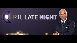 Movember in RTL Late Night bij Humberto Tan