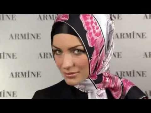 Hijab Fashion: Armine Eşarp Bağlama Modelleri # 10