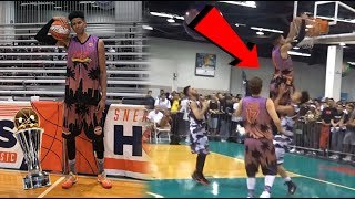 I WON MVP! HALF-COURT 3's, 4-POINT PLAY & A POSTER! SneakerCon LA TOP 10 PLAYS!